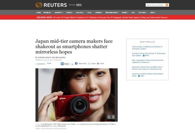 reuters cameras